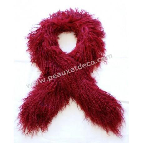 tibet lambsin scarf