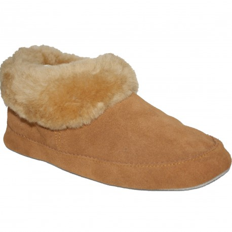MIXT SHEESPKIN SLIPPERS - ATL014 BROWN