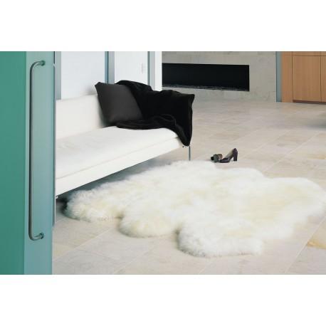 SEXTO SHEEPSKIN CARPET MERINOS Natural White