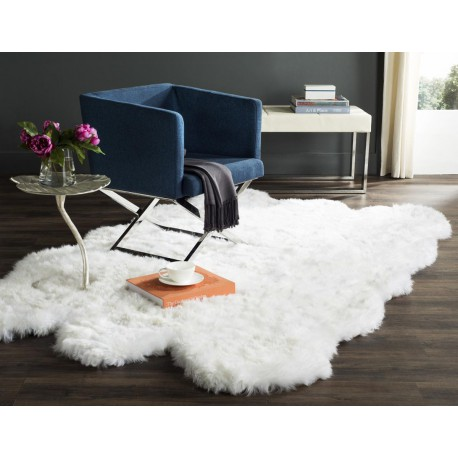 octo SHEEPSKIN CARPET MERINOS Natural White