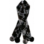 REX RABBIT SCARVE  WITH POMPON