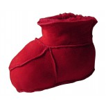 BABY SLIPPER SOFT Red or Brown