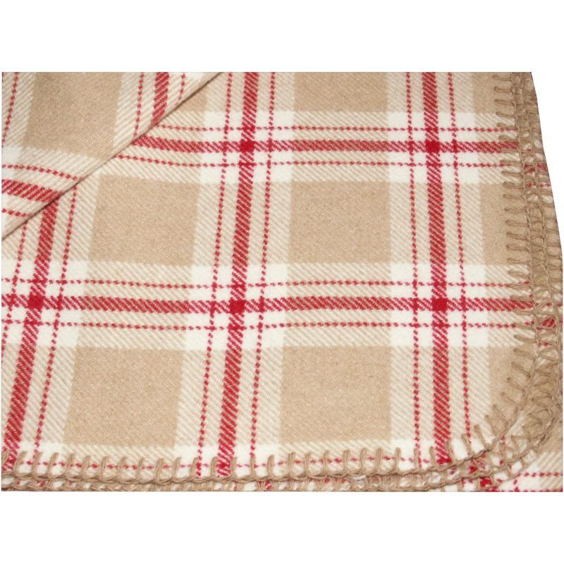 scottish tartan chalet rug red beige ivory. Black Bedroom Furniture Sets. Home Design Ideas
