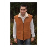 SHEPHERD VEST - Cognac Color